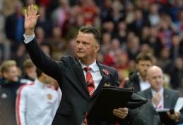 """Man Utd"" strategas L.van Gaalas: lygiųjų buvome verti"
