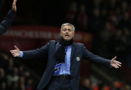"""J.Mourinho po lygiųjų su """"Manchester United"""" kaltino teisėją"""