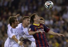 "Pirmasis ""El Clasico"" susirėmimas: Madrido ""Real"" - ""Barcelona"" (FOTO, VIDEO)"