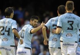 """""""Celta"""" po pergalės Ispanijoje pakilo į šeštąją vietą"""