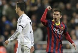C.Ronaldo ir L.Messi lenktynės: kas pasieks Čempionų lygos rekordą?