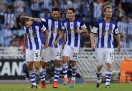 """Ispanijoje - dramatiška """"Getafe"""" pergalė prieš """"Real Sociedad"""""""