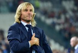 P.Nedvedas: už savo žodžius F.Totti turėtų likti be kapitono raiščio