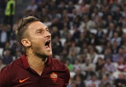 """Įtūžęs F.Totti: """"Juventus"""" turėtų žaisti savo lygoje (VIDEO)"""