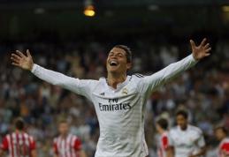 """Ispanijoje - eiliniai C.Ronaldo įvarčiai ir triuškinanti Madrido """"Real"""" pergalė (VIDEO)"""