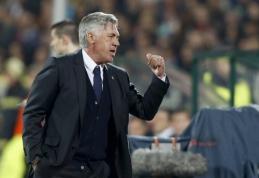 C.Ancelotti: J.Rodriguezas ir A.Di Maria - skirtingo stiliaus žaidėjai