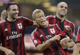 """Pergalėmis """"Serie A"""" džiaugėsi aikštės šeimininkai"""