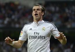 """""""Man Utd"""" taikinyje - brangiausias pasaulio futbolininkas G.Bale'as"""