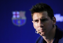 Kaltinimai neatmesti - L.Messi teks stoti prieš teismą mokesčių slėpimo byloje