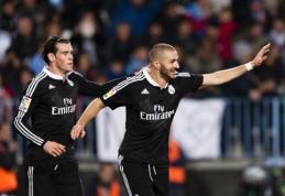 """Madrido """"Real"""" išvykoje iškovojo sunkią pergalę prieš """"Malaga"""" (VIDEO)"""