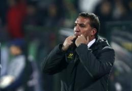 """B.Rodgersas po lygiųjų su """"Ludogorets"""": šis rezultatas jau nebereikšmingas"""