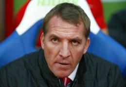 """B.Rodgersas prabilo apie braškančią kėdę """"Liverpool"""" klube"""