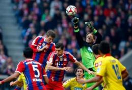 """""""Bundesliga"""": """"Bayern"""" iškovojo pergalę, """"Borussia"""" prarado taškus (VIDEO)"""