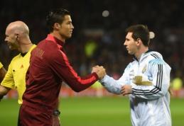Draugiški mačai: C.Ronaldo rinktinė pranoko L.Messi, vokiečiai palaužė ispanus (VIDEO)
