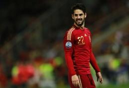 """Isco: Ispanijos rinktinė ir Madrido """"Real"""" turi geriausius pasaulio futbolininkus (VIDEO)"""