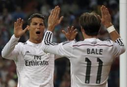 G.Bale'as: noriu pasiekti C.Ronaldo lygį