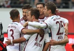 """Vokietijoje """"Bayern"""" pergalė pažymėta T.Mullerio """"hat-tricku"""""""