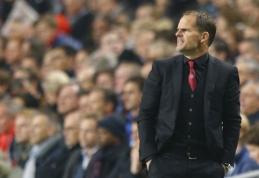 """""""Ajax"""" treneris F.de Boeris: nemanau, kad nusipelnėme pralaimėjimo"""