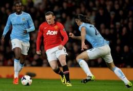 "Mančesterio derbio apžvalga: ""Man City"" - ""Man Utd"" (FOTO, VIDEO)"