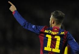 """Neymaras netrukus pasirašys naują kontraktą su """"Barcelona"""""""