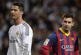 C.Ronaldo tik su 11 m. baudinių pagalba aplenktų L.Messi pagal įmuštus įvarčius