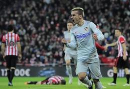 "A.Griezmanno ""hat-trickas"" garantavo ""Atletico"" ekipai pergalę prieš baskus (VIDEO)"