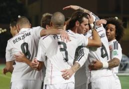 """Madrido """"Real"""" klubas - FIFA pasaulio klubų taurės finale (VIDEO)"""