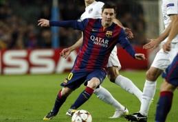 D. Luizas: Messi – geriausias visų laikų futbolininkas
