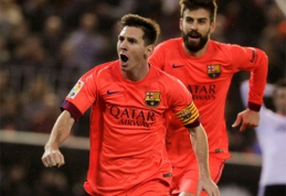 """""""Barcelona"""" teiks apeliaciją dėl L.Messi parodytos geltonos kortelės"""