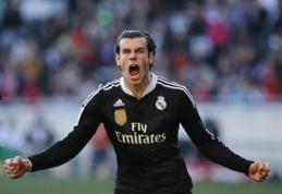 """G.Bale'as: neįsivaizduoju savęs vilkinčio """"Man Utd"""" marškinėlius"""