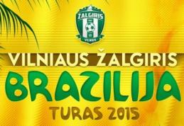 """Lietuvos čempionas """"Žalgiris"""" sezonui ruošis Brazilijoje"""