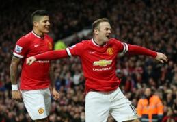"""W.Rooney dublis nulėmė """"Man Utd"""" pergalę, """"Southampton"""" patyrė nesėkmę (VIDEO)"""