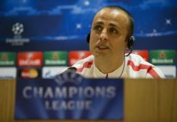 "D.Berbatovas: mes galime nustebinti ""Arsenal"""