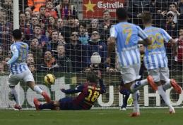 """""""Barcelona"""" namuose patyrė pralaimėjimą prieš """"Malaga"""", """"Atletico"""" šventė pergalę (VIDEO)"""
