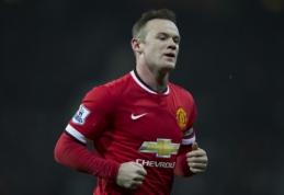 L.van Gaalas: W.Rooney yra geriausias komandos puolėjas, bet jis šioje pozicijoje nežais