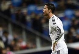 C.Ancelotti: C.Ronaldo nebūtina pelnyti įvartį, kad sužaistų geras rungtynes