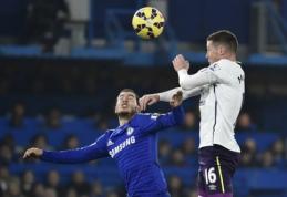 """""""Chelsea"""" išplėšė pergalę prieš """"Everton"""", Mančesterio klubai neklupo (VIDEO)"""