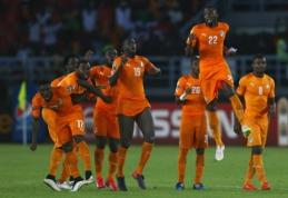 Drama Afrikos čempionato finale pasibaigė Dramblio Kaulo Kranto rinktinės triumfu