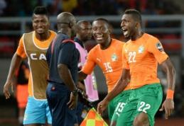 Dramblio Kaulo Kranto rinktinė - Afrikos čempionato finale (VIDEO)