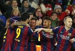 """""""Barcelona"""" per kelias minutes atsitiesė ir iškovojo pergalę prieš """"Villarreal"""""""