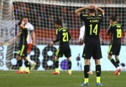 Draugiškose rungtynėse olandai vėl pamokė ispanus, Anglijos ir Italijos rinktinės išsiskyrė taikiai (VIDEO)