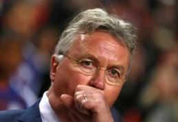 """G.Hiddinkas: """"Nežinau, kaip sugrąžinti Olandijai geriausius laikus"""""""