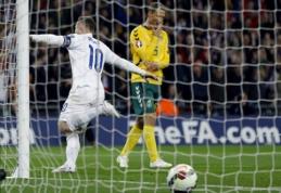 """Sensacijos sukurti nepavyko: lietuviai """"Wembley"""" stadione patyrė triuškinantį pralaimėjimą (VIDEO, FOTO)"""