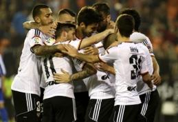 """""""Primera"""": """"Valencia"""" nugalėjo """"Deportivo"""" ir pakilo į trečiąją vietą (VIDEO)"""