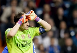 """""""Real"""" kapitonas I.Casillasas: pasiekėme dugną"""