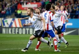 """""""Valencia"""" išplėšė lygiąsias prieš """"Atletico"""", rekordinis L.Messi """"hat-trickas"""" pažymėtas triuškinančia pergale (VIDEO)"""