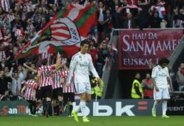 """""""Real"""" krachas tęsiasi - """"Athletic"""" namuose parklupdė Madrido ekipą (VIDEO)"""
