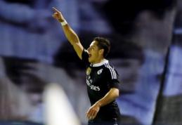 """J.Hernandezas: dėkoju Dievui, kad turiu galimybę žaisti """"Real"""" klube"""
