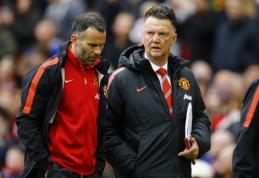 """L.van Gaalas: kitu """"Man Utd"""" treneriu turėtų tapti R.Giggsas"""