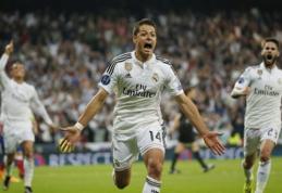"""Čempionų lyga: J.Hernandezo įvartis """"Real"""" išvedė į pusfinalį, """"Juventus"""" - kitame etape (VIDEO)"""